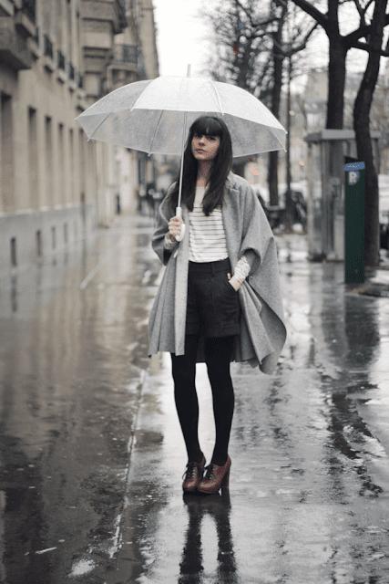 outfit da pioggia cosa indossare quando piove come vestirsi quando piove rainy day outfit tendenze autunno 2016 moda fashion blog di moda italiani blogger italiane di moda