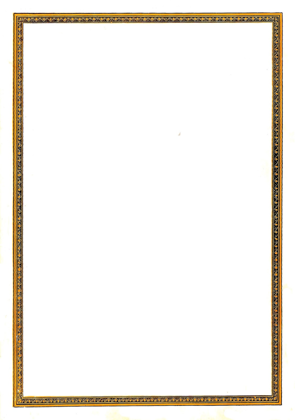 Antique Images: Decorative Frame Digital Clip Art Vintage Border Design