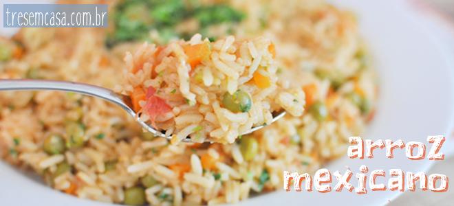 como fazer arroz mexicano