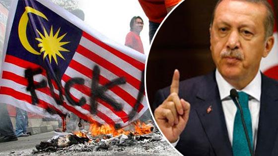 Nasihat Erdogan Isu Bendera Indonesia Terbalik Buat Semua Umat Islam Dirantau Ini Terpaku