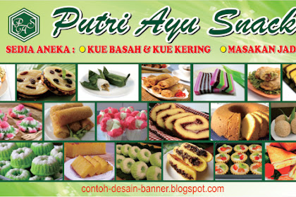 Newest For Spanduk Aneka Kue Basah