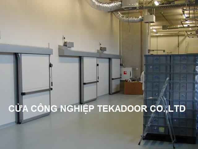 Cửa trượt kho đông lạnh - Cửa lùa kho lạnh Cold Room