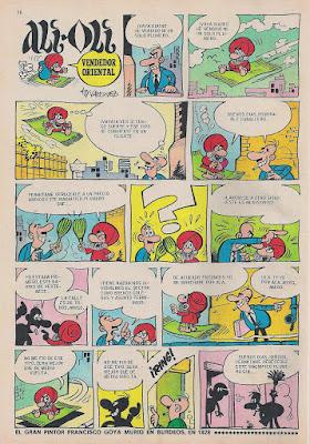 Ali Oli, Tio Vivo 2ª nº 440 (11 agosto 1969)