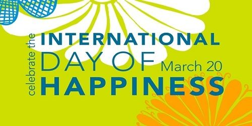 International Happiness Day 20 March