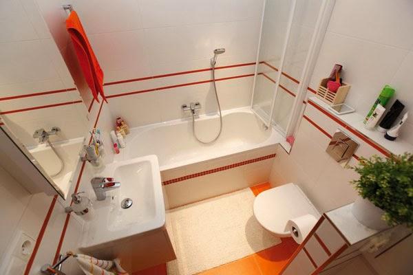 peralatan bilik mandi kecil