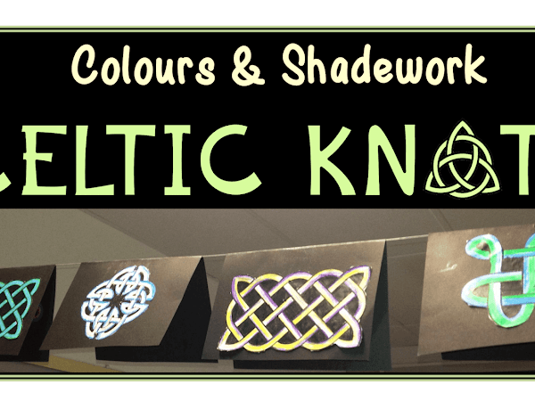 Celtic Knots : Colours and Shadework Art