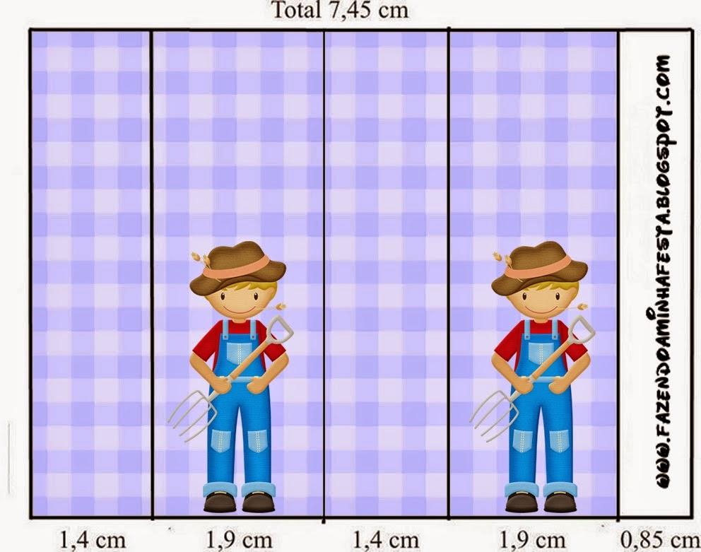 La Granja Especial Niños: Etiquetas para Candy Bar para Imprimir Gratis.