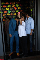 Ranveer Singh in Blue Blazer Spotted Life Bar ~  Exclusive 16.JPG
