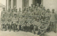 John Chipman's field artillery group photograph