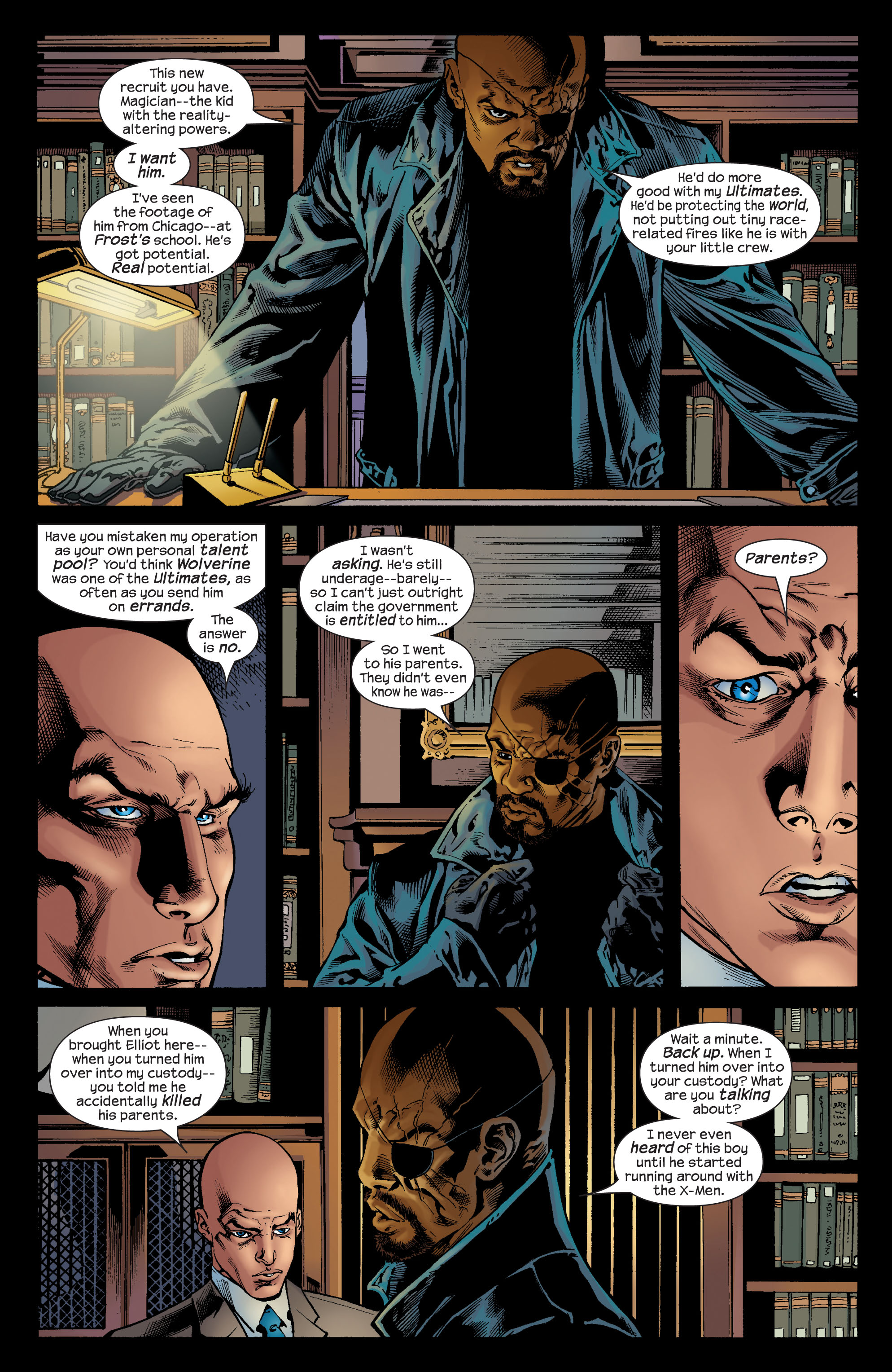 Read online Ultimate X-Men comic -  Issue #72 - 21