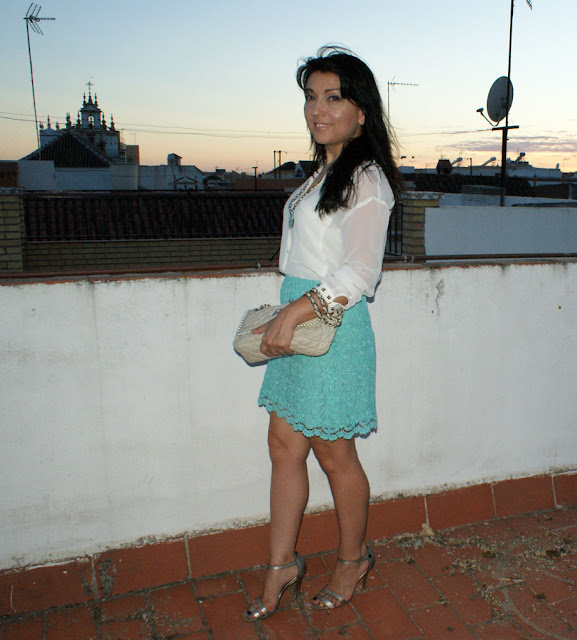 falda+color+menta