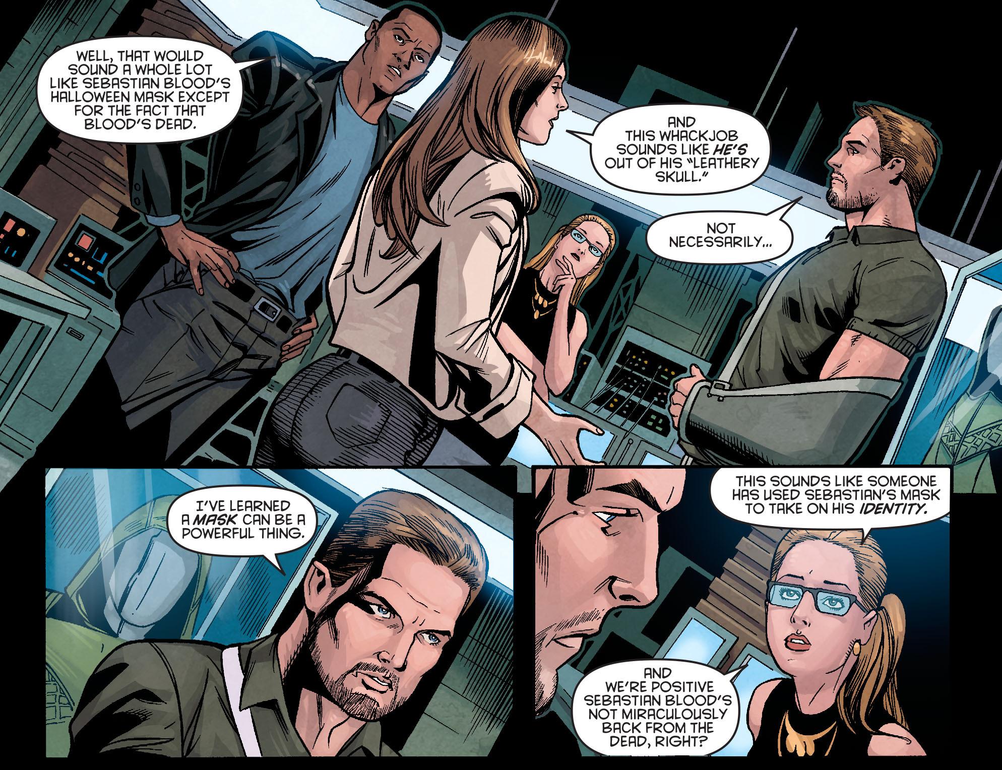 Read online Arrow: Season 2.5 [I] comic -  Issue #5 - 5