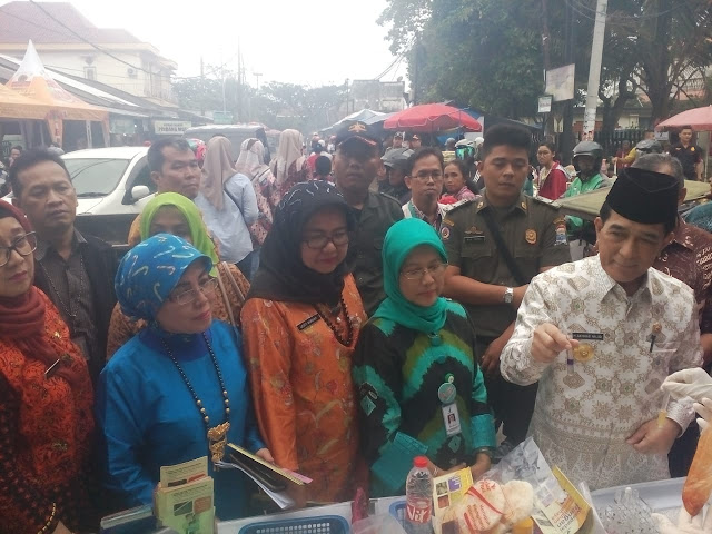 Pjs Walikota Palembang bersama BPOM gelar Sidak Pasar Bedug