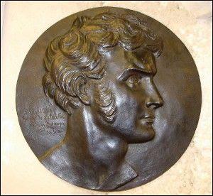 David d'Angers (1788-1856) - Hyacinthe (dit Henri) Thabaud de Latouche - Médaillon - 1831 - Louvre.