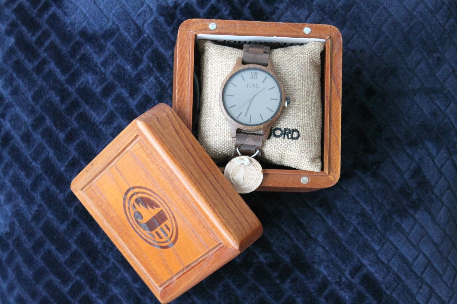 Jord Unique Wooden Watch