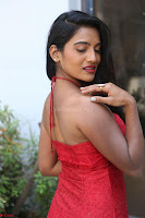 Mamatha sizzles in red Gown at Katrina Karina Madhyalo Kamal Haasan movie Launch event 166.JPG