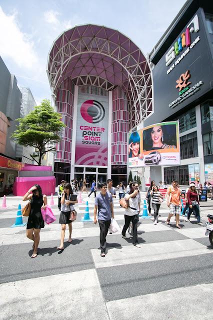 Siam Center e MBK-Bangkok