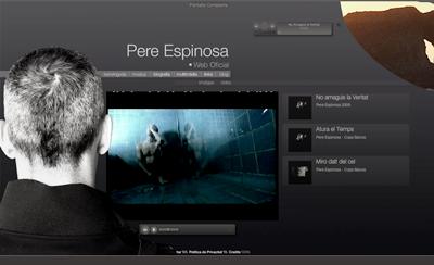 Pere Espinosa © Delfi Ramirez 2008 @ Segonquart Studio