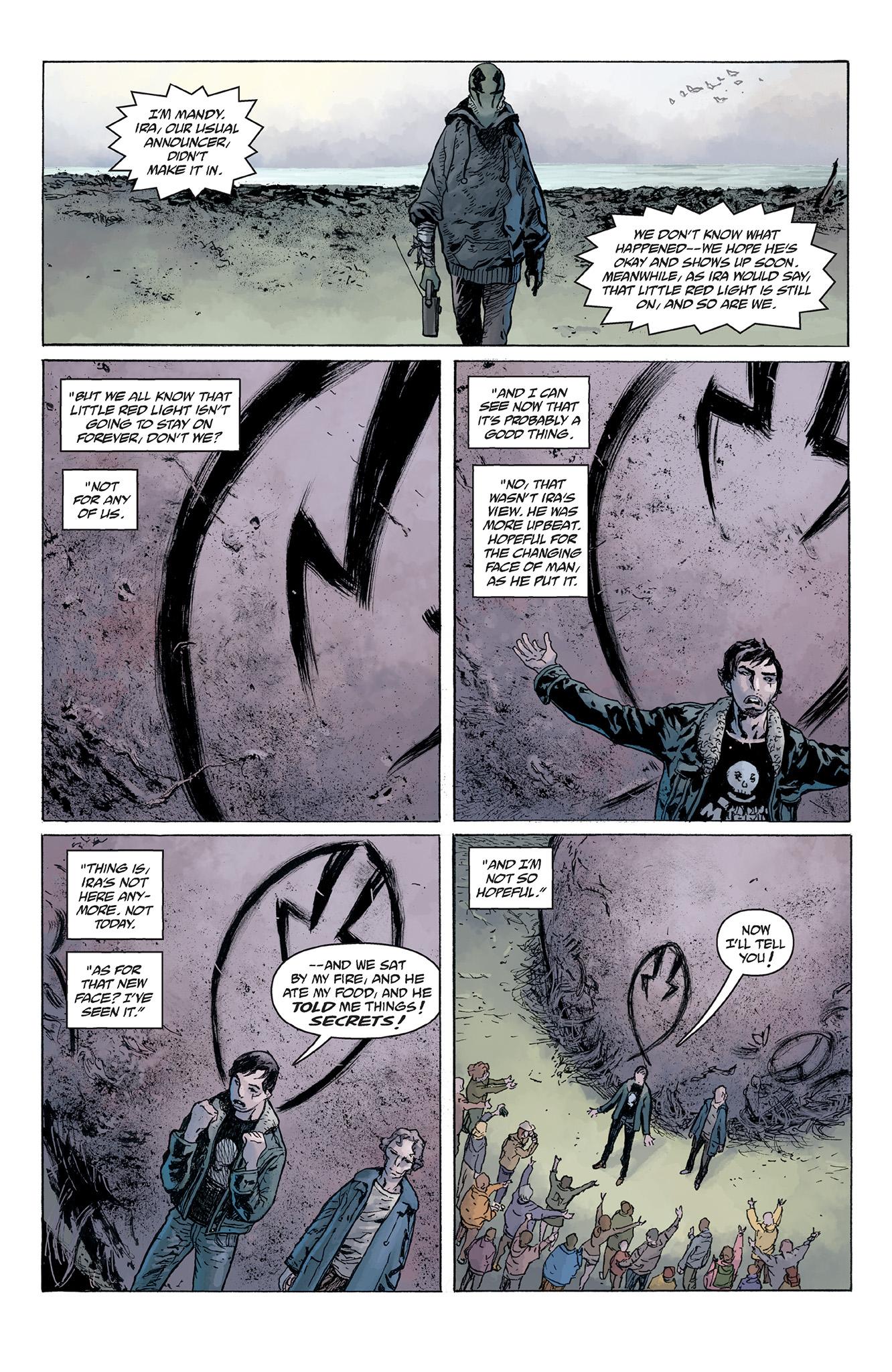 Read online Abe Sapien comic -  Issue #5 - 22