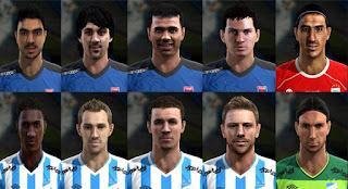 10Facepack Liga Argentina v8 Pes 2013