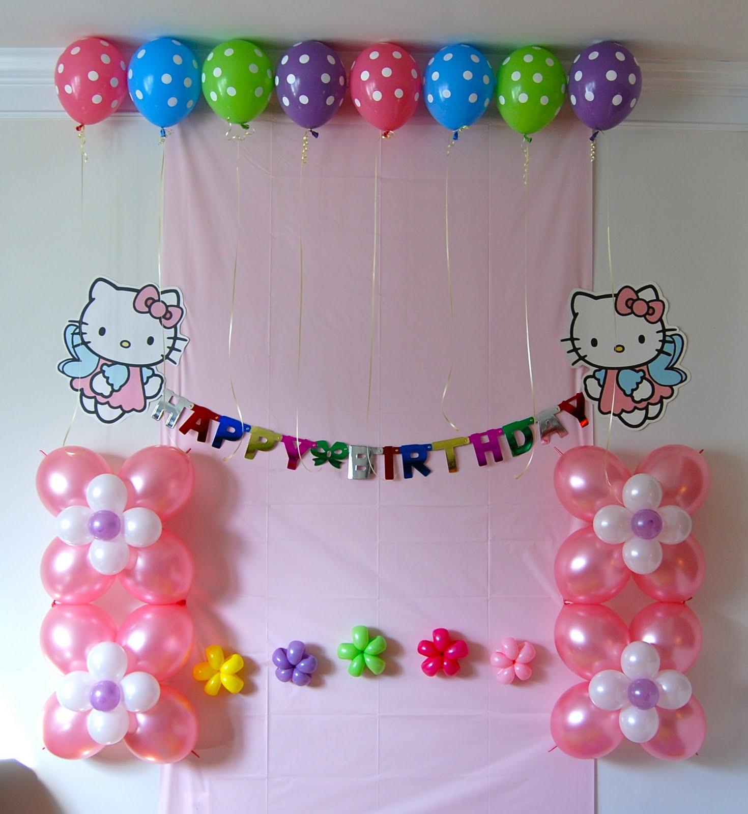Balloon Decoration At Home: Balloon Decor-Twisting & Glitter Tattoos