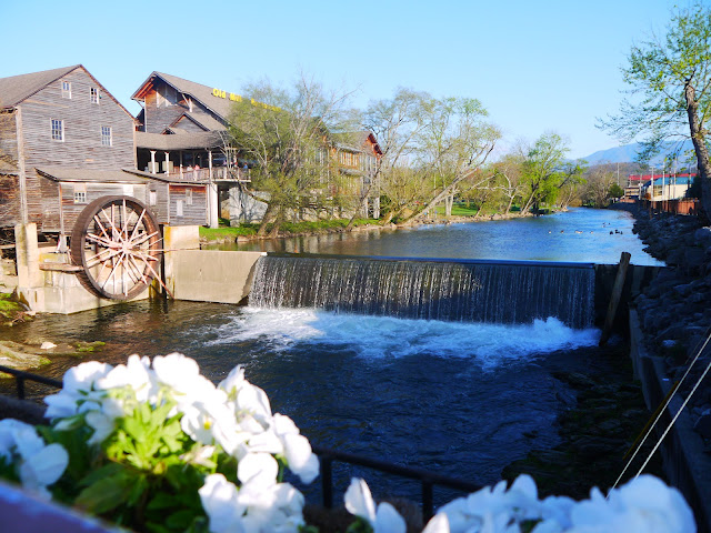 Waterfalls in Pigeon Forge