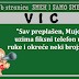 """VIC: """"Sav preplašen, Mujo uzima fiksni telefon u ruke i okreće neki broj:..."""""""