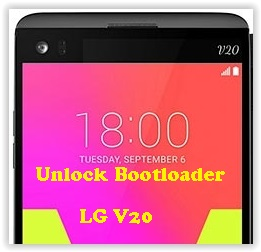 How to Unlock Bootloader LG V20 (VS995, H910, F800L, LS997