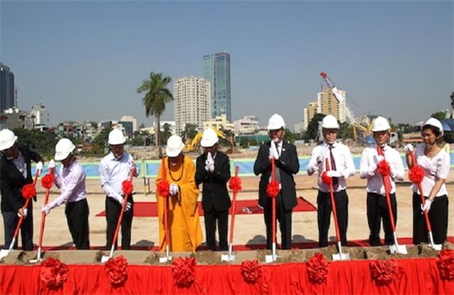 Lễ khởi công dự án Tân Hoàng Minh Giảng Võ