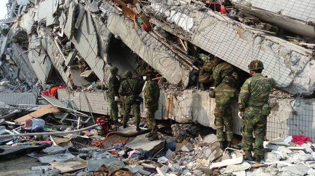 Sobe para 14 o número de mortos em terremoto no Taiwan