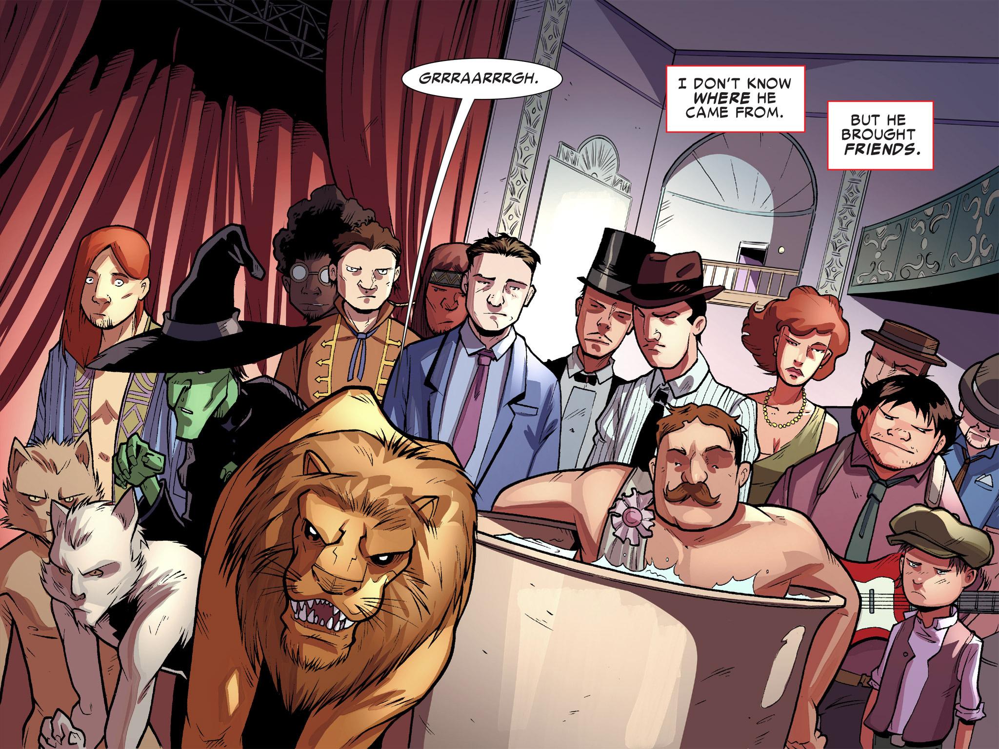 Read online Ultimate Spider-Man (Infinite Comics) (2016) comic -  Issue #10 - 5