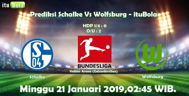 Prediksi Schalke Vs Wolfsburg - ituBola