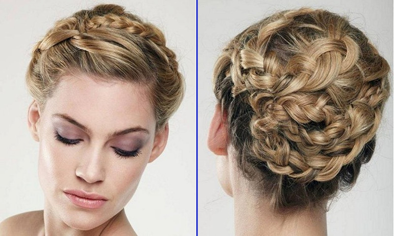 Wedding Hairstyles With Braids: Plan-a-Wedding-on-a-Budget: All That Is Beautiful And Vintage