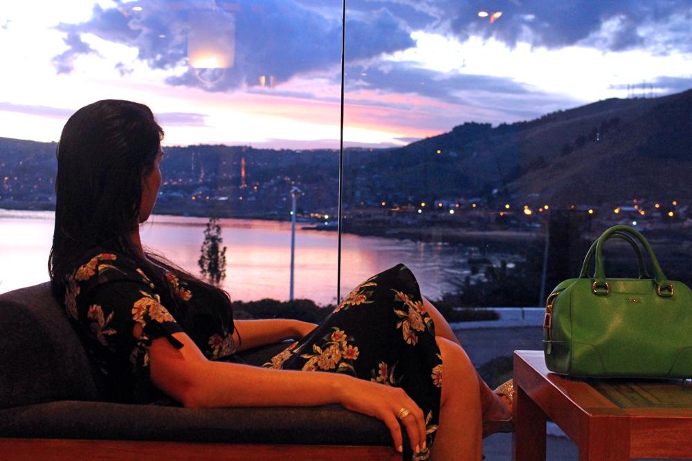 Hotel Libertador Lago Titicaca at sunset, Puno - travel blog