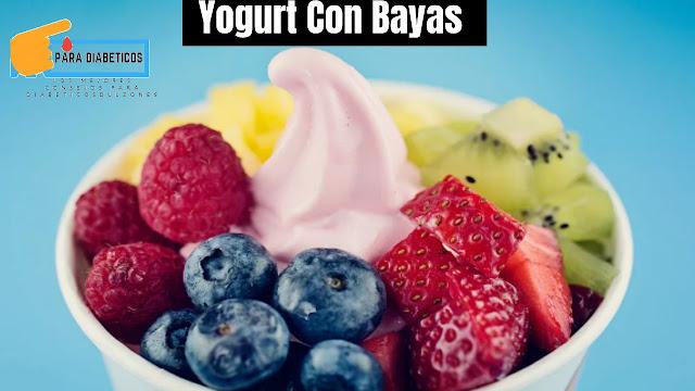 Yogurt Congelado Con Bayas