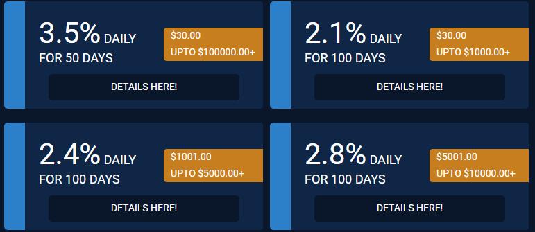Инвестиционные планы CoinCapitalTrade