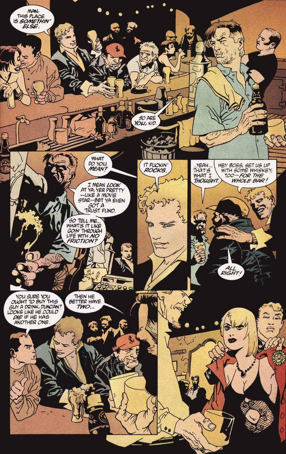 Read online 100 Bullets comic -  Issue #4 - 16