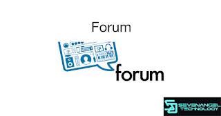 Tutorial Blogger 2018: Forum