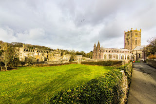 St David´s Cathedral Bishop´s Palace Pembrokeshire Coast