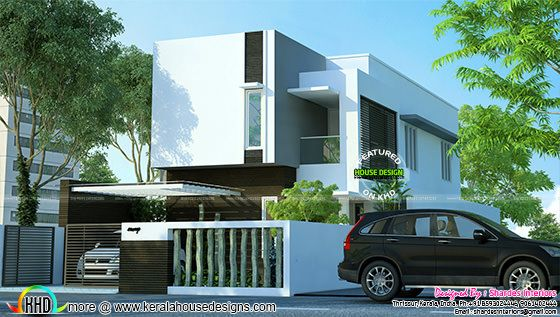 2100 sq-ft modern contemporary home