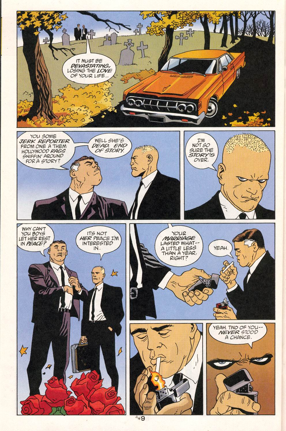 Read online 100 Bullets comic -  Issue #27 - 11