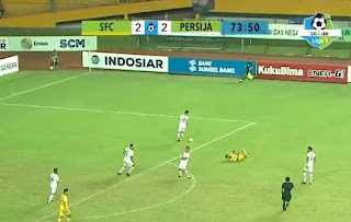 Sriwijaya FC vs Persija Jakarta 2-2 Video Gol Highlights
