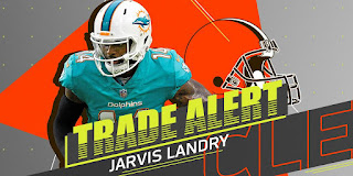 NFL Fantasy Football Dolphins Trade WR Jarvis Landry to Browns