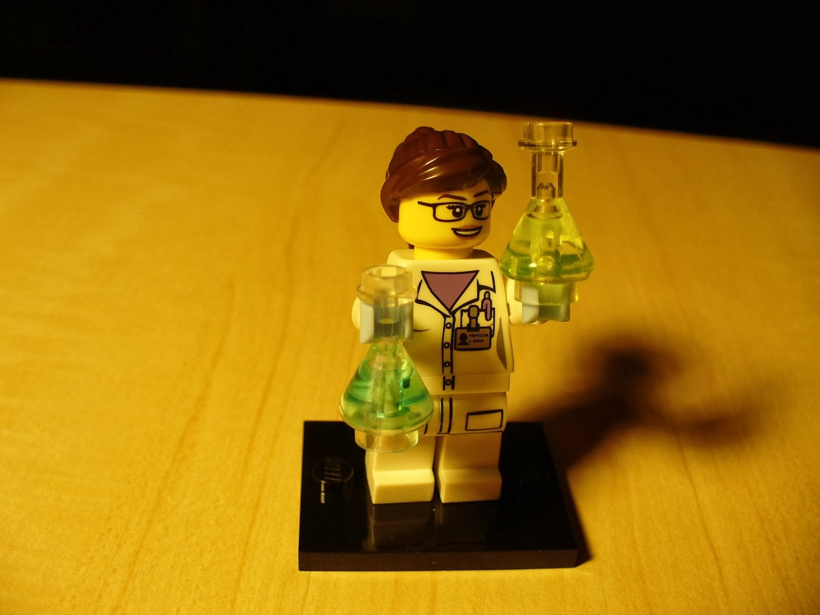 Scientist from Lego Minifig Series 11