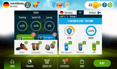 Soccer Star 2016 World Legend v3.1.6 MOD APK Update