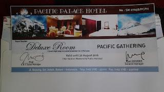 Pacifik palace hotel batam
