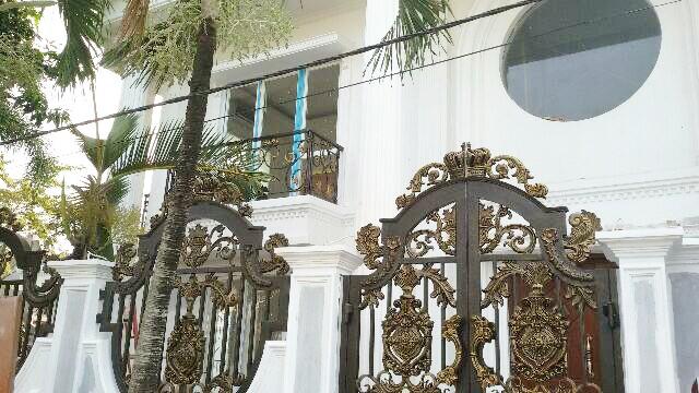 Pagar Besi Tempa Klasik Dan Mewah Pagar Rumah Mewah Pintu Pagar