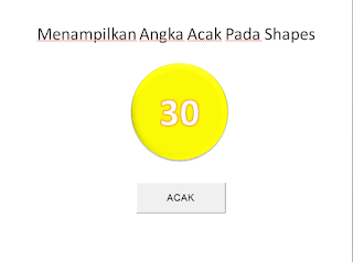 angka pada shapes vba powerpoint 2007