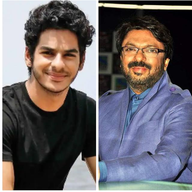 Latest Bollywood movie's: may be Ishaan khatra was make a movie with sanjay leela bhansali
