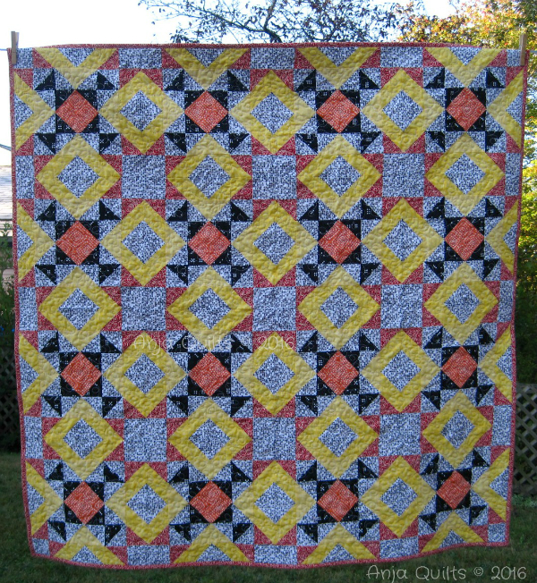 Anja's Just the Basics quilt | DevotedQuilter.blogspot.com
